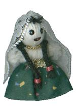 A.A.A. Collectible Raggedy Ann style Armenian Dolls: Armenian woman, made by G. G. Dolls