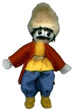 A.A.A. Collectible Raggedy Ann style Armenian Dolls: Man from Karabagh, made by  A.A.A. Armenian Dolls
