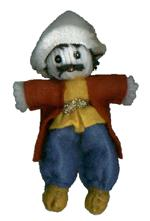 A.A.A. Collectible Raggedy Ann style Armenian Dolls: Man from Karabagh, made by G. G. Dolls