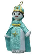 A.A.A. Collectible Raggedy Ann style Armenian Dolls: priest of Armenian Apostolic Church made by  A.A.A. Armenian Dolls
